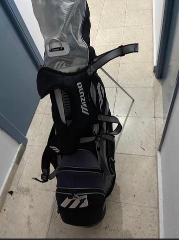 Bolsa De Golf + Palos De Golf