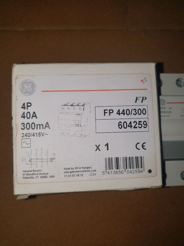 DIFERENCIAL 4P 40A 300MA FP (NUEVOS) - foto 2