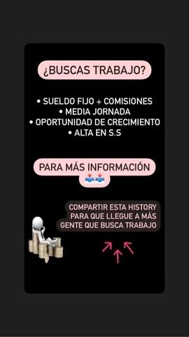 SE OFRECE TRABAJO EN PRÓXIMA APERTURA - foto 1
