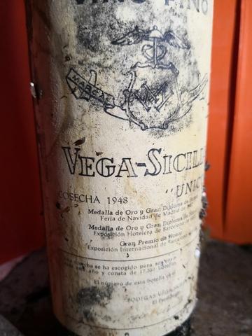 5 Botellas Vega Sicilia