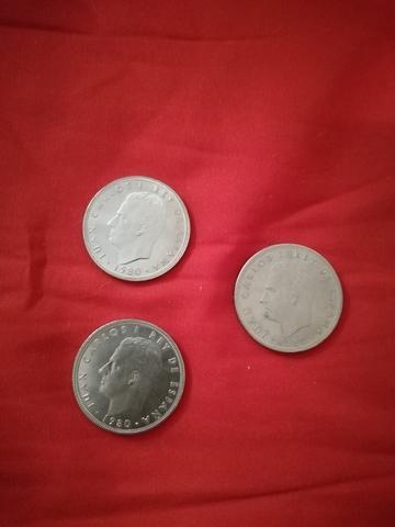 Monedas 100 Pesetas.