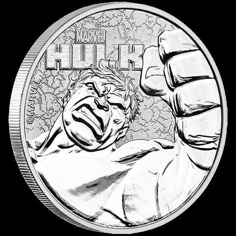 Onza , Plata , Hulk , Marvel , Tuvalu