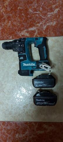 Taladro Percutor Con Dos Baterias Makita