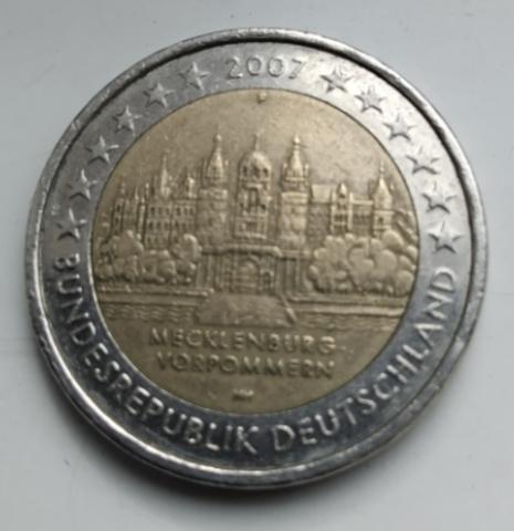 Moneda Conmemorativa 2   Alemania 2007