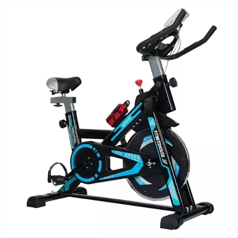 Bicicleta Spinning Azul