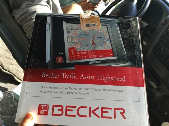 BECKER TRAFFIC ASSIST HIGHSPEED - foto 1