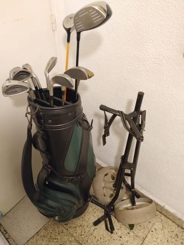 Bolsa,  Carro Y Juego De Palos De Golf