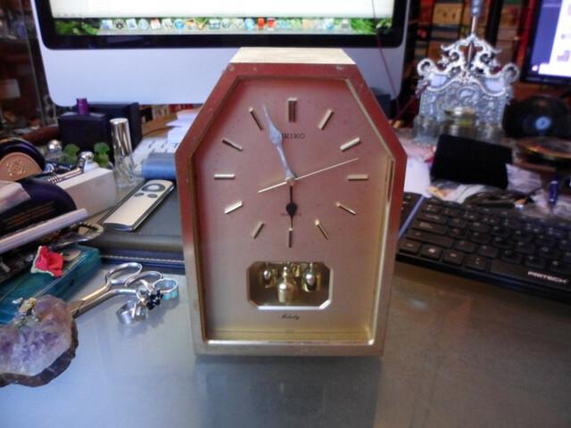 Reloj De Mesa Marca Seiko