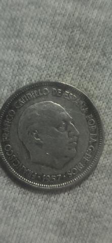 5 Pesetas 1957 Estrella 58