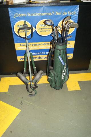 Lote 13 Palos Golf + Carro Transporte