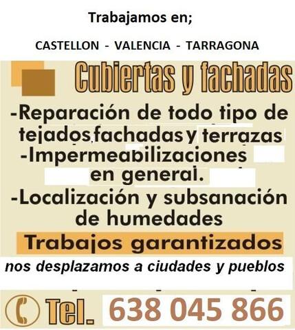 TEJADOS TARRAGONA IMPERMEABILIZACIÓN - foto 1