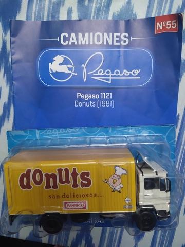 Camión Pegaso Salvat Donuts