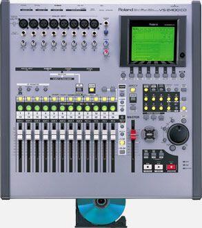 ROLAND VS-2400CD MESA DIGITAL MULTIPISTA