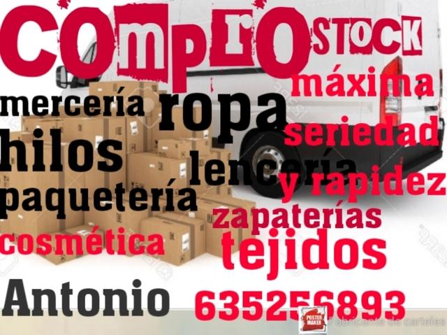 COMPRO CIERRE DE TIENDAS STOCK - foto 1