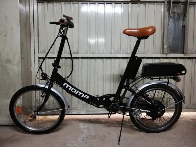 Bicicleta Eléctrica Plegable 500W