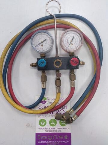 Medidor Presion Manometro Para Refrigera