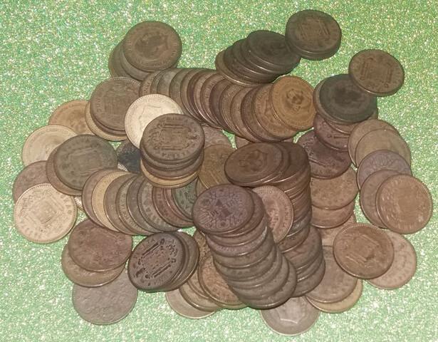 Monedas Antiguas España(Franco)