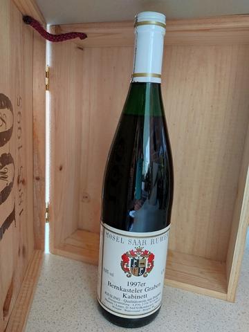 Botella Vino Mösel Alemania