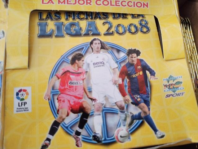 Sobres Cromos Liga 2007 2008 Mundicromo