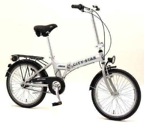 Bicicleta Plegable De Aluminio City Star