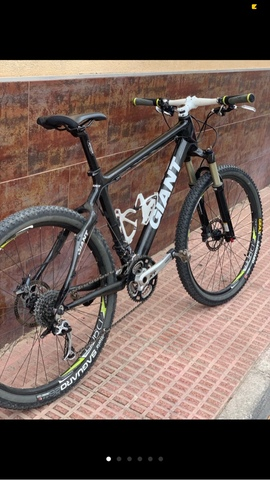 Bicicleta Giant Carbono