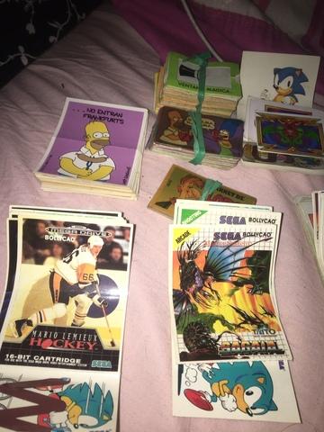 Variedad D Cromos D Ao 90 D Colección