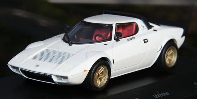 Lancia Stratos Hf White Blanco Escala 1: