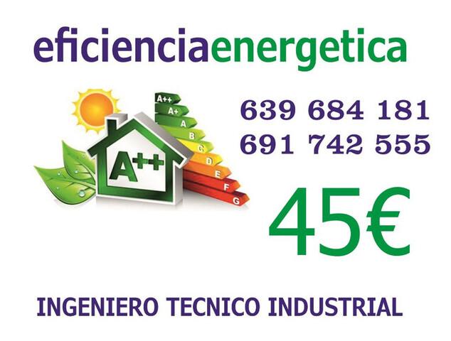 GETAFE CERTIFICADOS ENERGÉTICOS 45E - foto 1