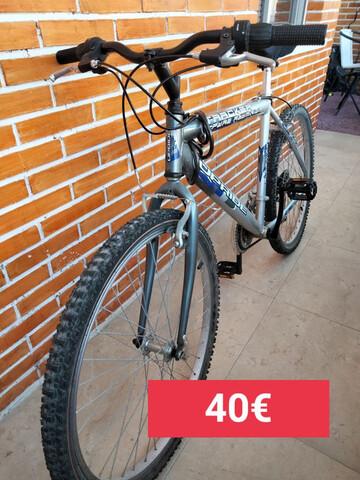 Vendo Por Mudanza  Bici Aluminio