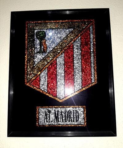 Cuadro Atletico De Madrid