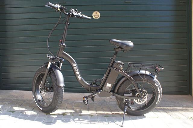 Bicicleta Eléctrica Plegable.  Nueva