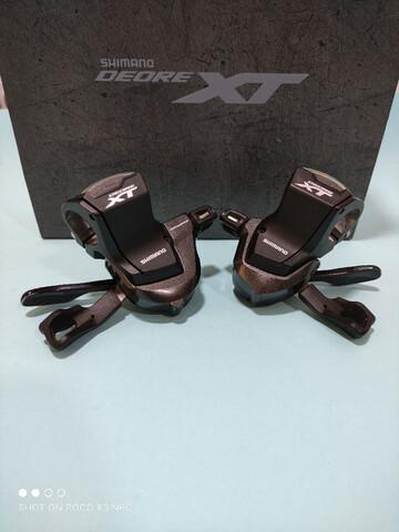 Pulsadores Shimano Xt M 8000