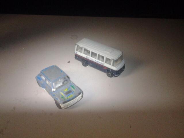 -Lote De 2 Vehiculos Corgi