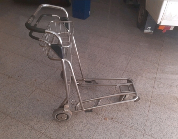 Carro Transporte Acero Inox.