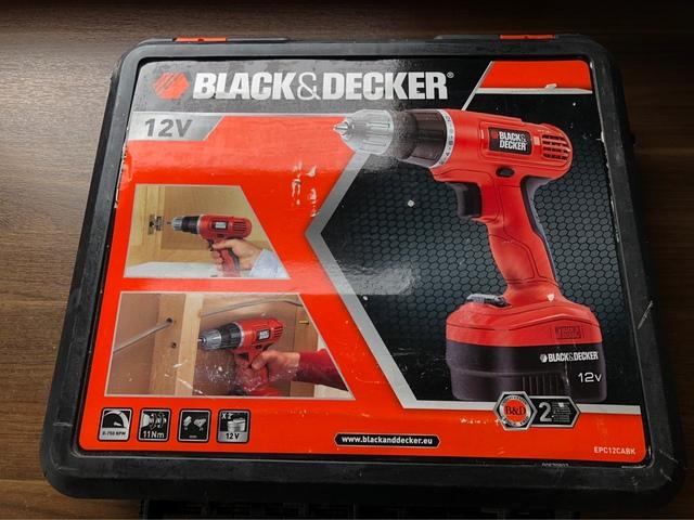 Destornillador Black & Decker