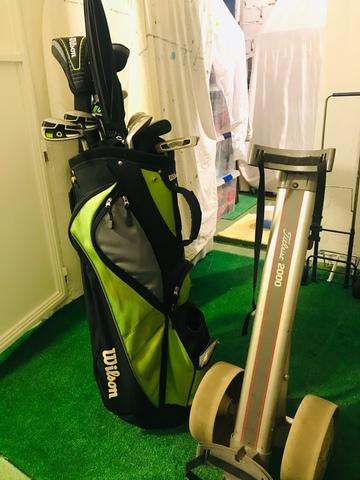 Kit De Golf Wilson,  Palos,  Bolsa . .