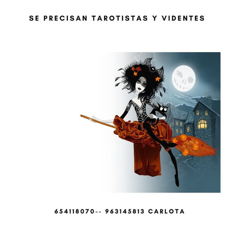 PRECISAMOS TAROTISTAS Y VIDENTES - foto 1
