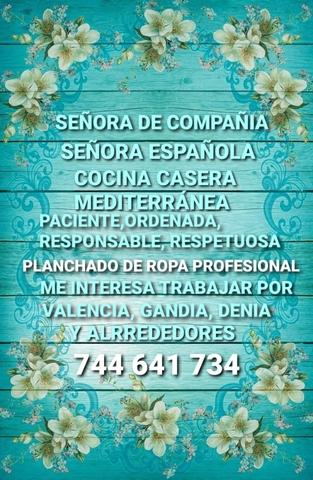 SEÑORA DE COMPAÑÍA-CUIDADORA - foto 1