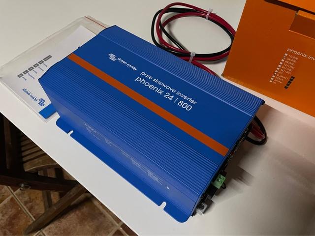 Inversor Victron Phoenix 24V 800Va