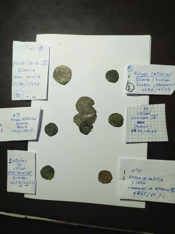 Lote De 6 Monedas Mediavales