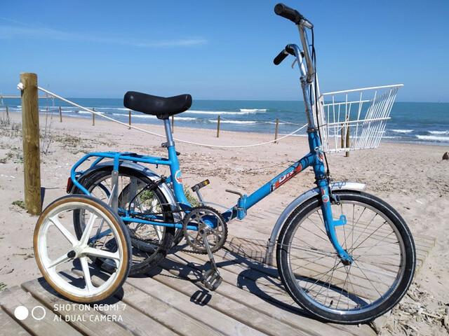 Triciclo Adulto Plegable Ciudad Y Paseo