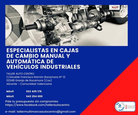 REPARACION CAJA DE CAMBIOS MANUAL-AUTOM.  - foto 1