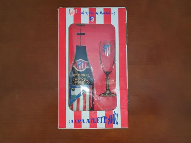 Botella De Atletico De Madrid 1996