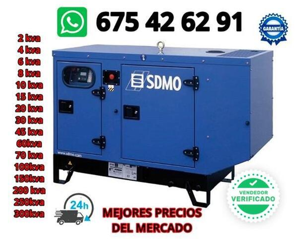 GENERADOR ELECTRICO 16 KVAS - foto 2