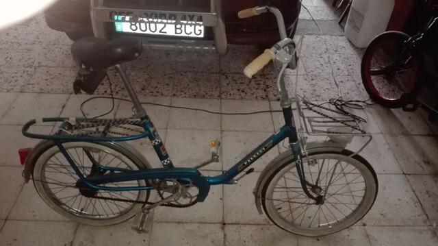 Bicicleta Peugeot Antigua Pegable Ideal.