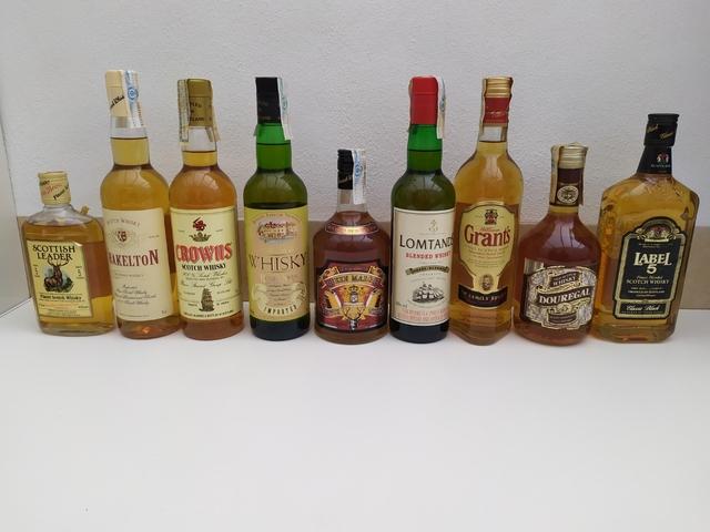Colección Botellas Whisky