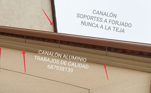 CANALON DE ALUMINIO EN MURCIA - foto 4