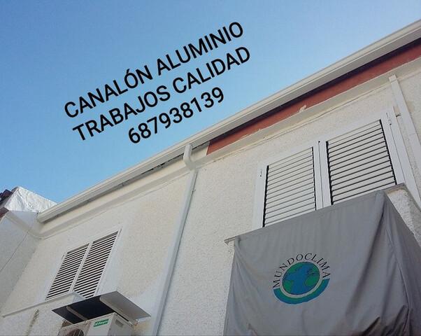 CANALON DE ALUMINIO EN MURCIA - foto 6