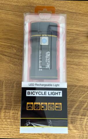 Luz Foco Led Bicicleta 6000Lm Sin Cables