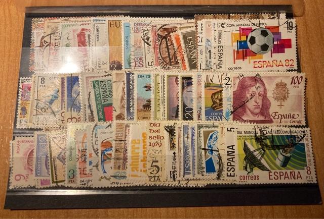 Lote 100 Sellos España
